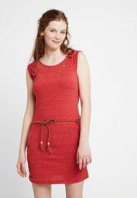 Ragwear - TAG - Žerzejové šaty - coral - 0