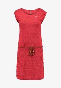 Ragwear - TAG - Žerzejové šaty - coral - 4