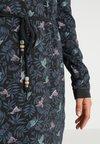 Ragwear - PELIADA - Skjortekjole - mottled anthracite
