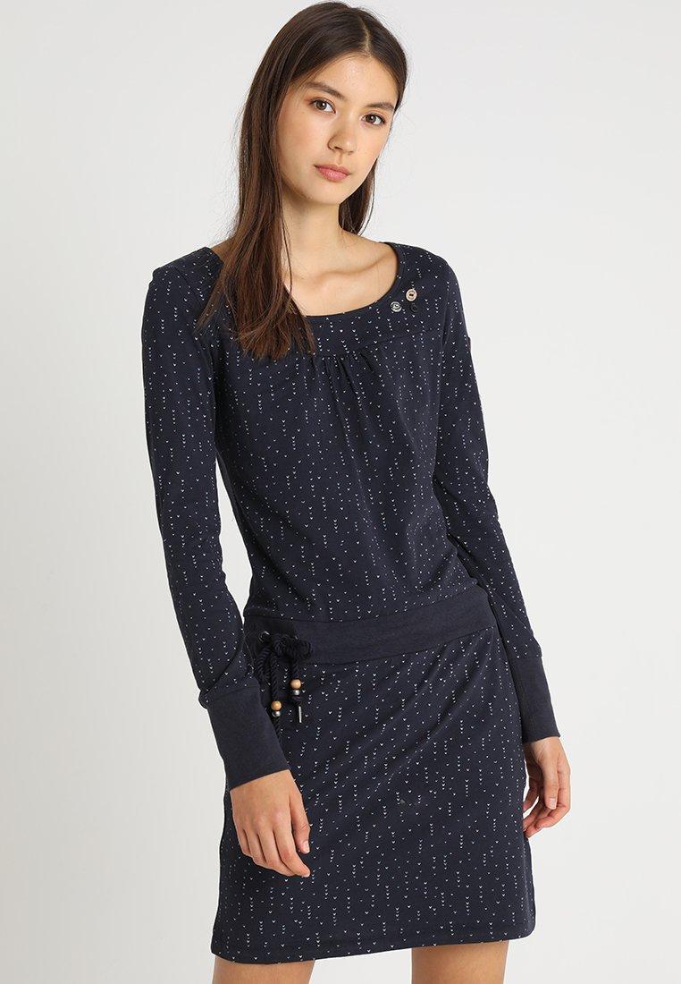 Ragwear - PENELOPE - Vestito di maglina - navy