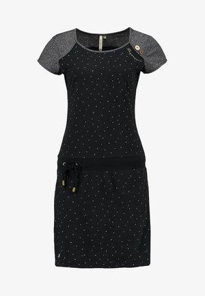 MIKE DRESS ORGANIC Z - Jerseykleid - black