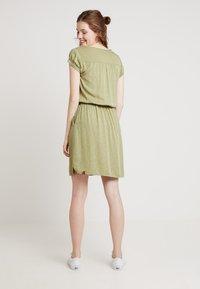 Ragwear - DANILA - Skjortekjole - light olive - 2