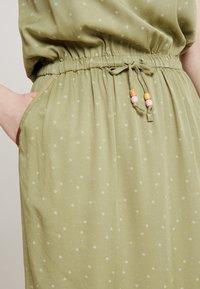 Ragwear - DANILA - Skjortekjole - light olive - 5