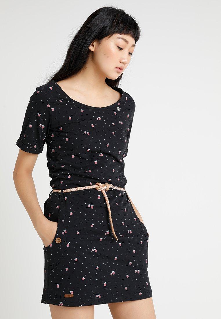 Ragwear - TANYA - Jerseykjole - black