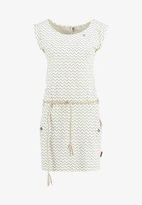 Ragwear - TAG ZIG ZAG - Žerzejové šaty - vanilla - 4