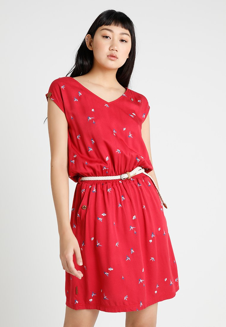 Ragwear - CAROLINA - Freizeitkleid - chili red