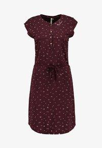 Ragwear - ZOFKA DRESS ORGANIC - Jerseykjole - wine red - 5