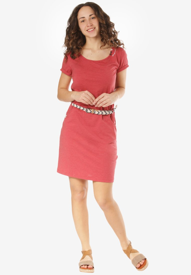 Ragwear - MONTANA - Day dress - red