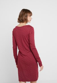 Ragwear - Jerseyklänning - wine red - 2