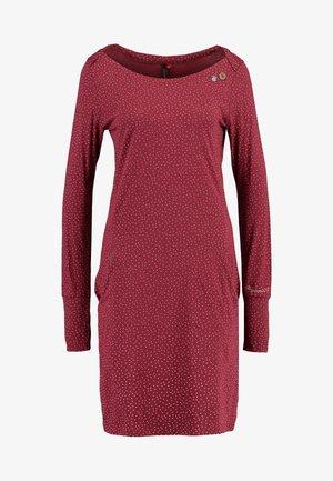 Jerseykleid - wine red