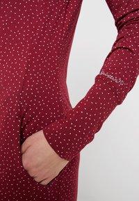 Ragwear - Jerseyklänning - wine red - 4