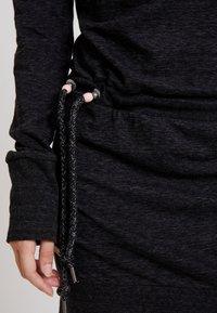 Ragwear - ALEXA - Spijkerjurk - black - 5