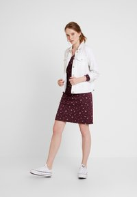 Ragwear - MONTANA - Shift dress - wine red - 2