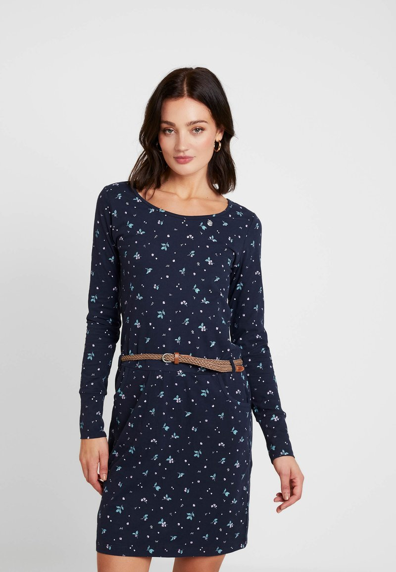 Ragwear - MONTANA - Pouzdrové šaty - navy