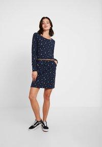 Ragwear - MONTANA - Pouzdrové šaty - navy - 2