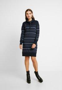Ragwear - DRESS - Korte jurk - navy - 0