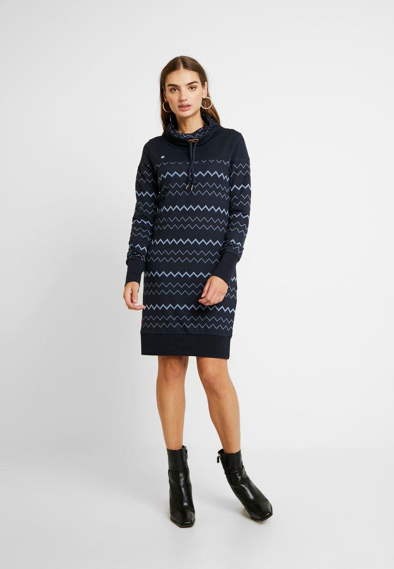 Ragwear - DRESS - Korte jurk - navy