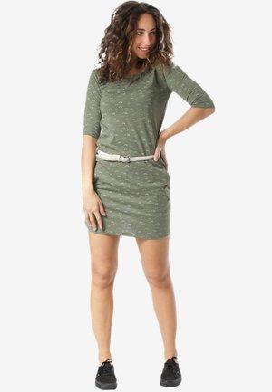 TANYA - Jersey dress - green