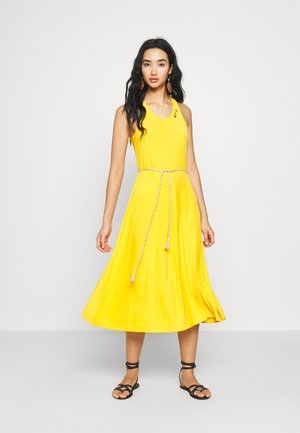 MILIE - Korte jurk - yellow