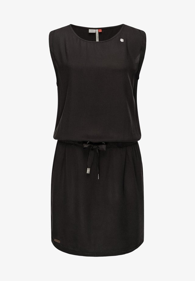 MASCARPONE - Jersey dress - black