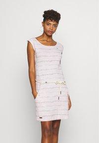 Ragwear - TAG SEA - Žerzejové šaty - light pink - 0
