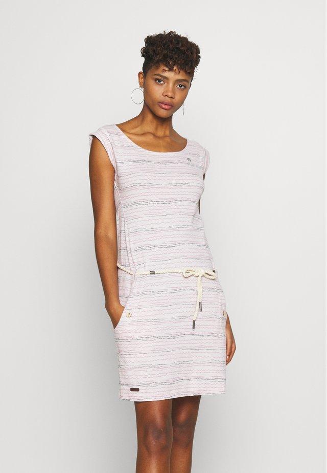 TAG SEA - Žerzejové šaty - light pink