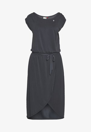 ETHANY - Jersey dress - navy