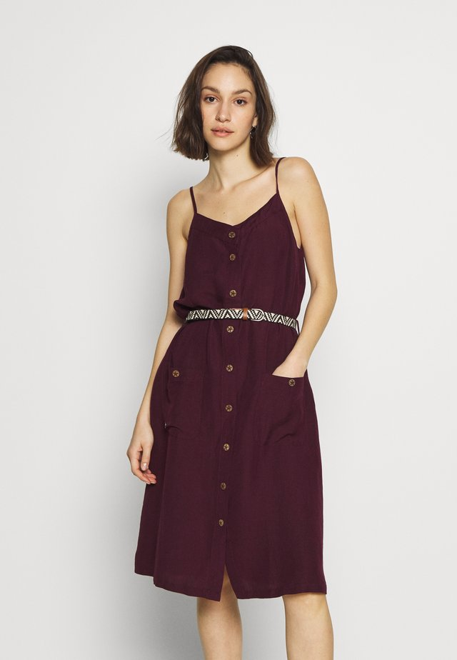 ANTOLIA DRESS - Freizeitkleid - plum