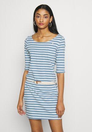 TAMY ORGANIC - Žerzejové šaty - blue