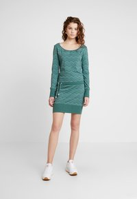 Ragwear - ALEXA ZIG ZAG - Jerseyjurk - green - 0