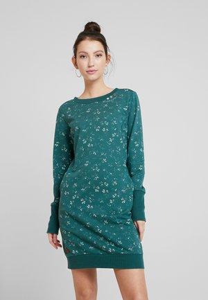 MENITA FLOWERS - Korte jurk - green