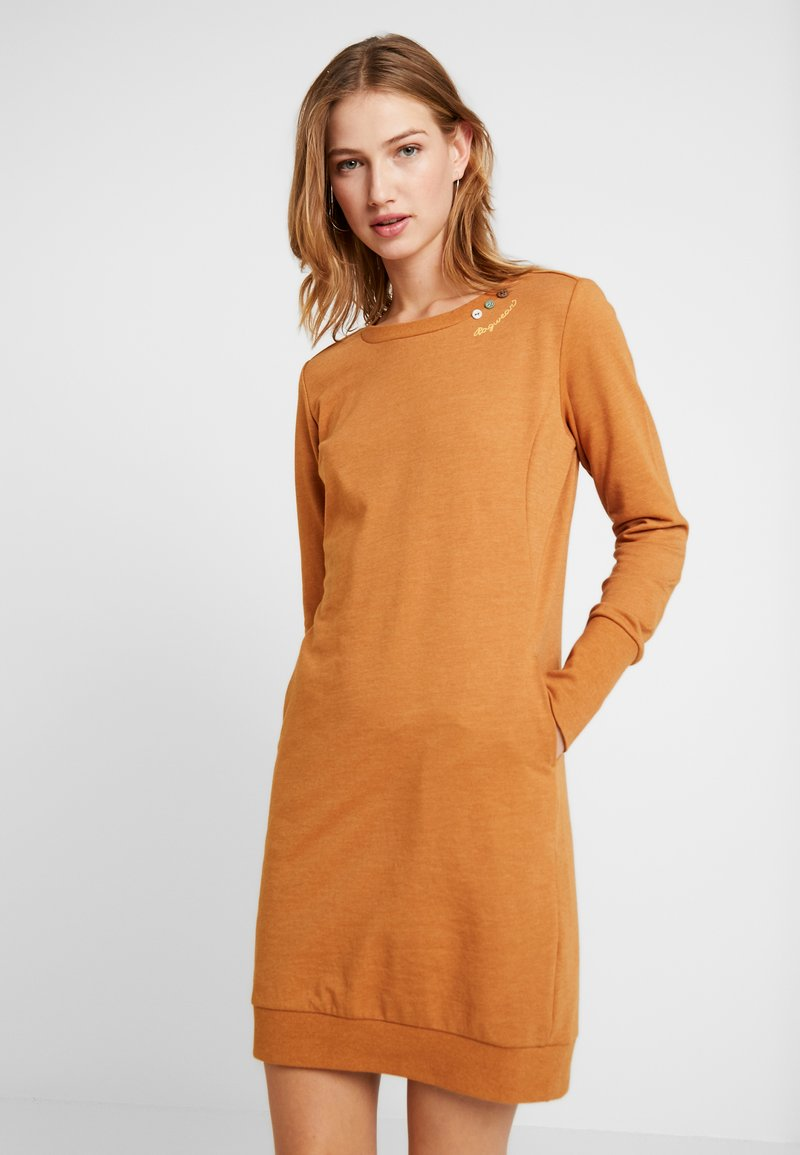 Ragwear - MENITA - Korte jurk - cinnamon
