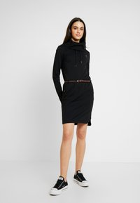 Ragwear - LAURRA - Day dress - black - 2
