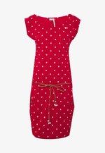TAG DOTS - Denní šaty - red