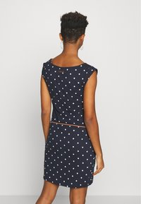 Ragwear - TAG DOTS - Day dress - navy