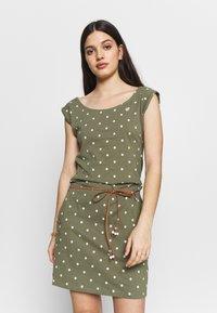 Ragwear - TAG DOTS - Vestido informal - olive - 0