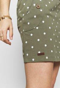 Ragwear - TAG DOTS - Vestido informal - olive - 3
