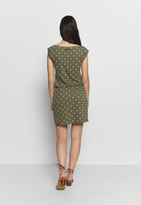 Ragwear - TAG DOTS - Vestido informal - olive - 2