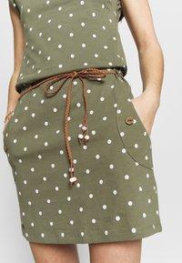 Ragwear - TAG DOTS - Vestido informal - olive - 6