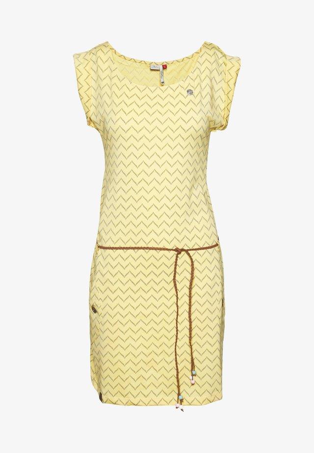 TAG ZIG ZAG - Jerseykjoler - yellow