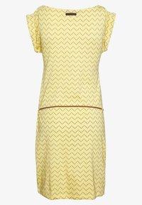Ragwear - TAG ZIG ZAG - Žerzejové šaty - yellow - 1
