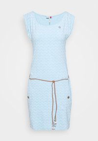 Ragwear - TAG ZIG ZAG - Vestido ligero - blue - 3