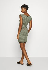 Ragwear - TAG ZIG ZAG - Jersey dress - olive - 2