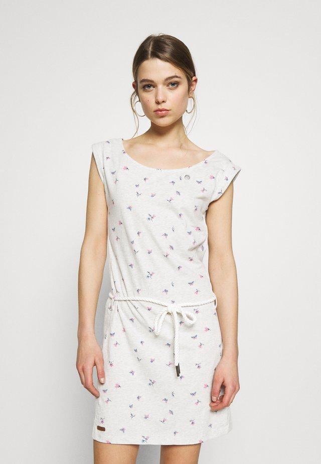 TAMY - Žerzejové šaty - white