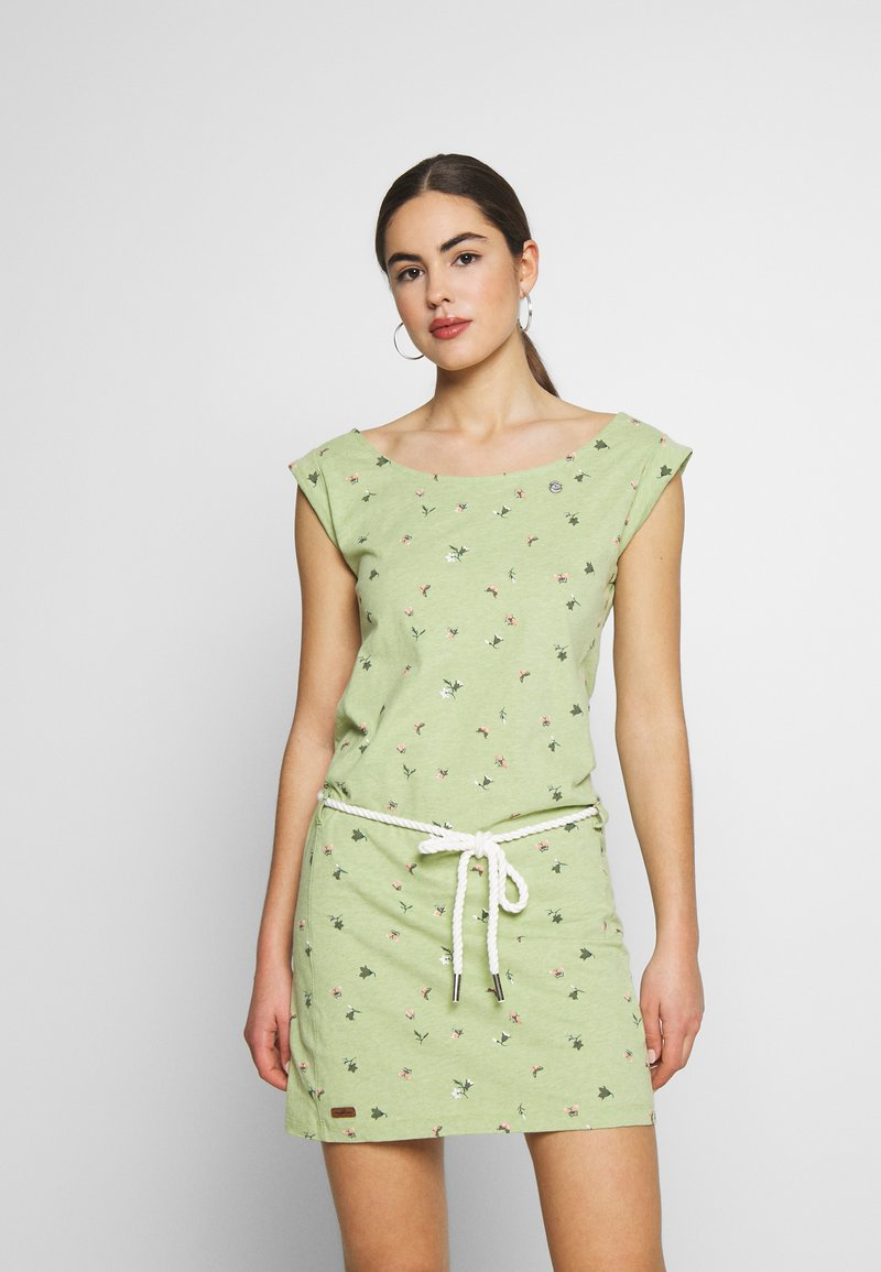 Ragwear - TAMY - Jersey dress - green