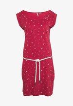 TAG - Žerzejové šaty - red