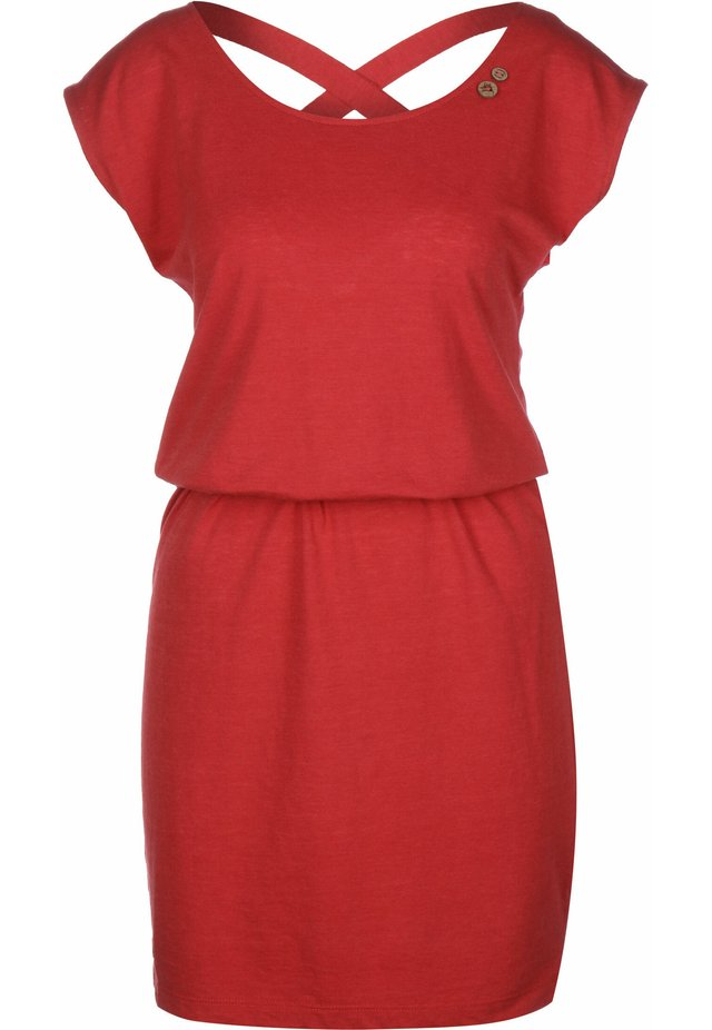 SOFIA W - Jerseykleid - red