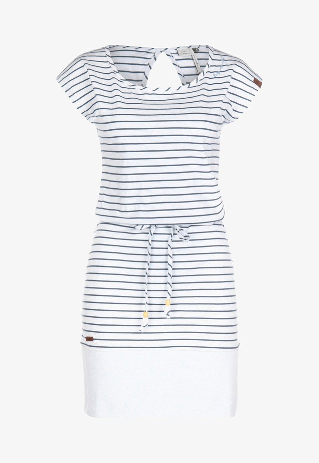 KLEID SOHO STRIPES W - Day dress - light blue