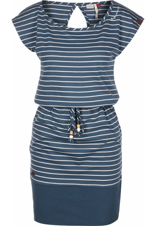 KLEID SOHO STRIPES W - Day dress - denim blue