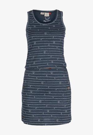 Jersey dress - denim blue